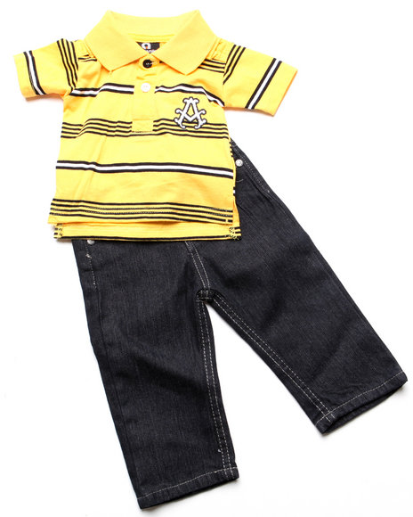 - 2pc Abner Polo Set (INF)