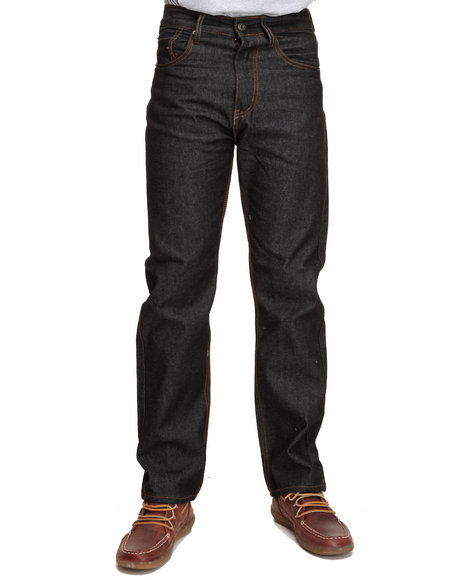 Basic Essentials - 5 Pocket Raw Denim Jeans