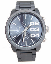 Watches - Unisex Franchise 51mm Gun Metal Face w/ Link Band Watch