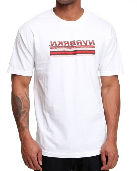 Dc Shoes Men White Ruggie Fill Tee