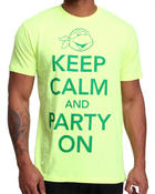 Buyers Picks - Keep Calm and Party On Tee