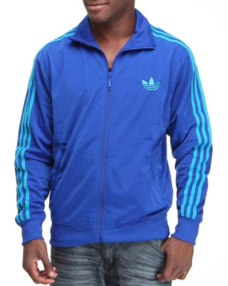 Adidas Men Blue Adi Firebird Track Jacket