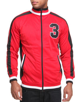 Basic Essentials - Varsity 3 Track Jacket