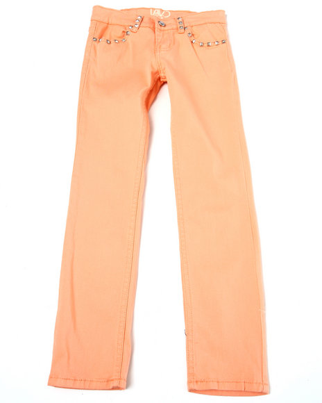 colored twill jeans (7-16)