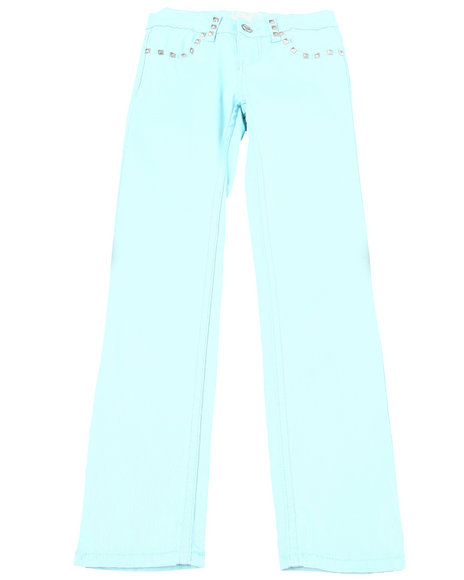 La Galleria - COLORED TWILL JEANS (7-16)