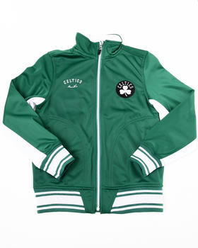 NBA MLB NFL Gear - CELTICS TRICOT TRACK JACKET (8-20)