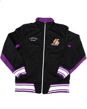 NBA MLB NFL Gear - LAKERS TRICOT TRACK JACKET (8-20)