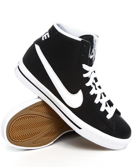 Nike Men Black Sweet Classic Hi Sneakers