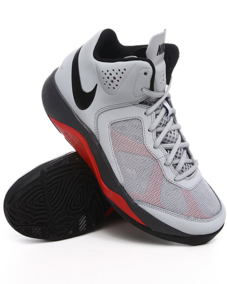 Nike Men Grey Dual Fusion Bb Sneakers