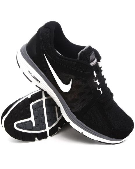 Nike Men Black Nike Dual Fusion Run Sneakers