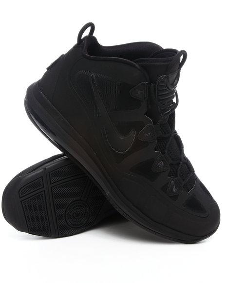 Nike Men Black Air Max Uptempo Fuse 360 Sneakers