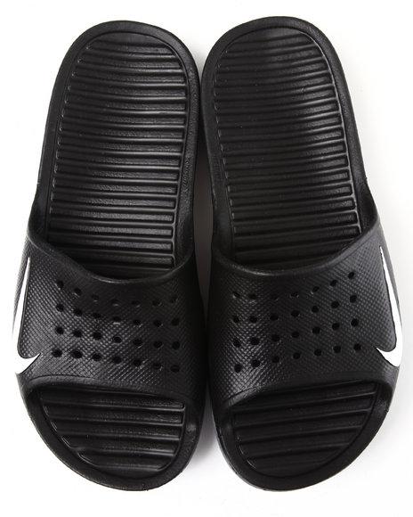 Nike Men Black Solarsoft Slide Sandals