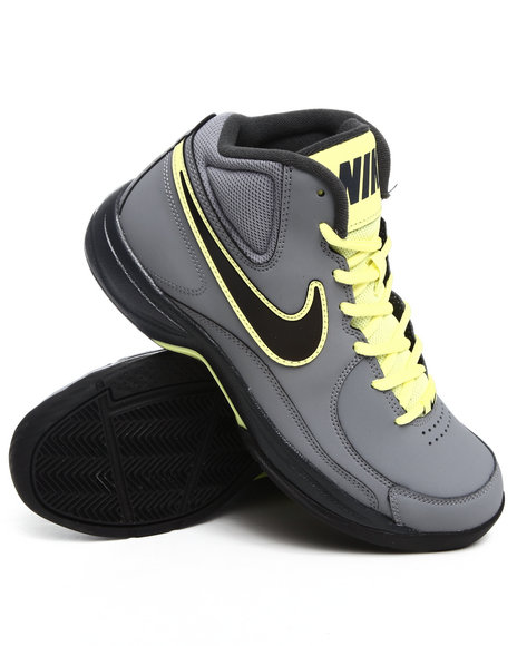 Nike Men Grey The Overplay Vii Sneakers