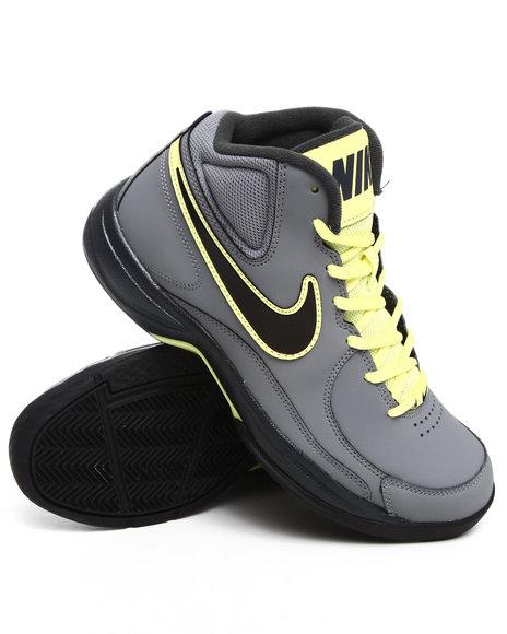 Nike Men Grey The Overplay Vii Sneakers