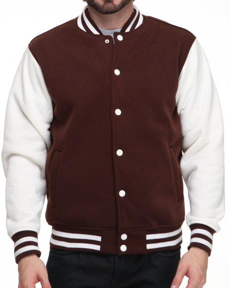 Brown Varsity Jacket | Outdoor Jacket