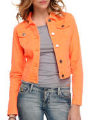 Women - Basic denim jacket