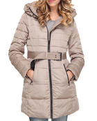 Women - Funnel Neck Down Coat