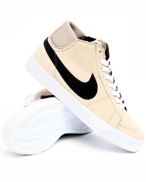 Nike Men Khaki Blazer Mid Lr Sneakers
