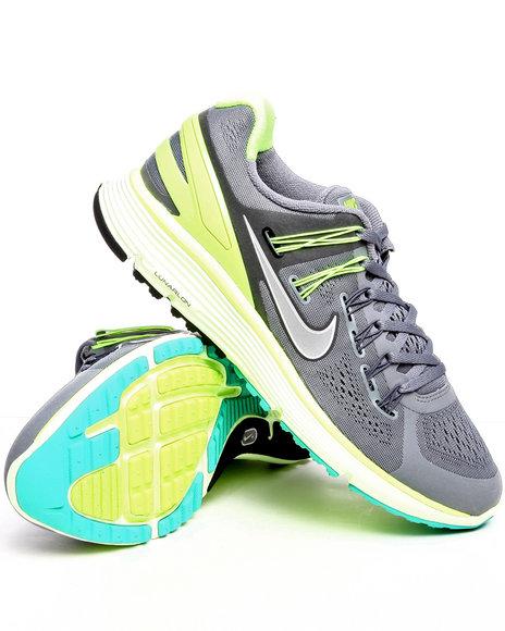 Nike Men Grey Nike Lunar Eclipse + 3 Sneakers