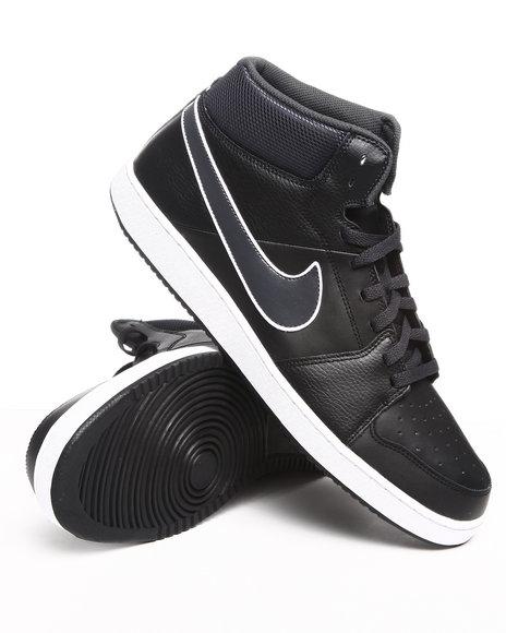 Nike Men Black Nike Backboard Ii Mid Sneakers