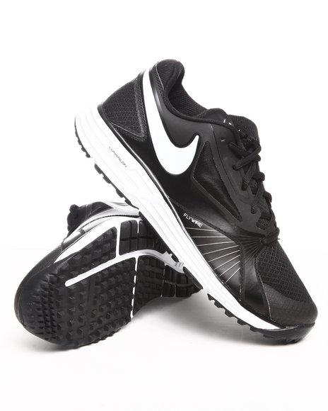 Nike Men Black Nike Lunar Edge Sneakers