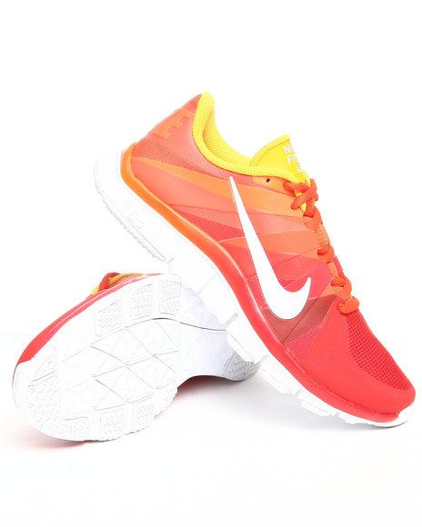 Nike Men Orange Nike Free Trainer 5.0 Sneakers