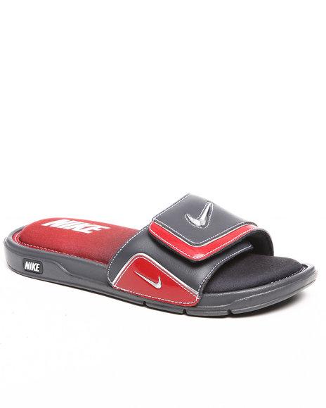 Nike Men Grey Nike Comfort Slide 2 Sandals