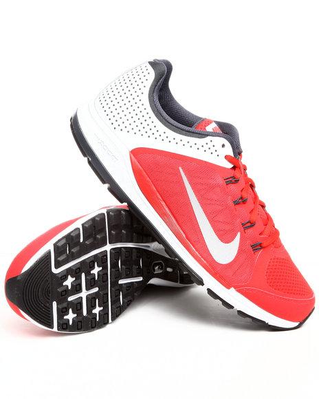 Nike Men Grey,Red,White Nike Zoom Elite + 6 Sneakers