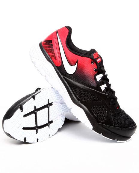 Nike Men Black Nike Dual Fusion Tr Iv Sneakers