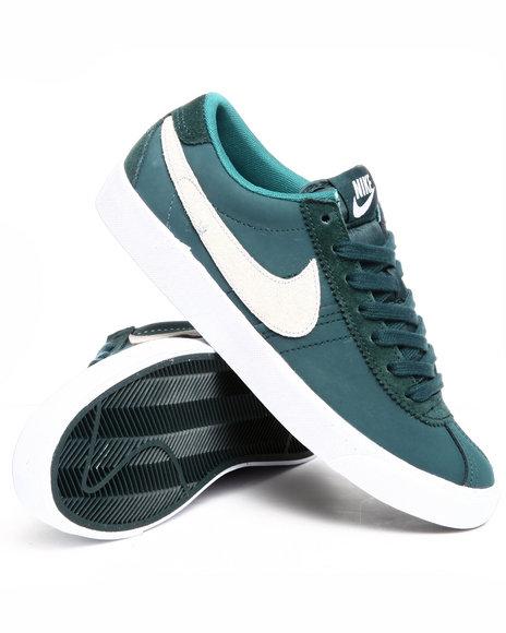 Nike Men Teal Nike Bruin Low Sneakers