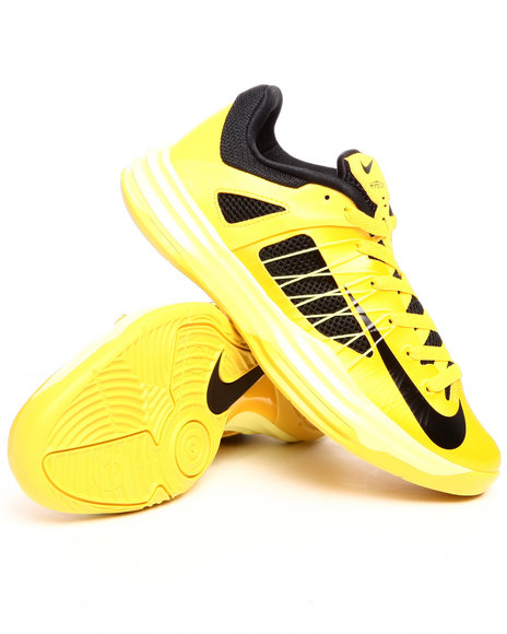 Nike - Men Yellow Nike Hyperdunk Low Sneakers