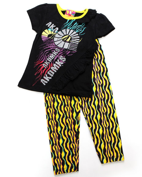 - 2pc Tribal Print Tunic with Legging