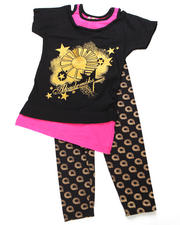 Outfits & Sets - 2pc Logo Print Tunic with Legging