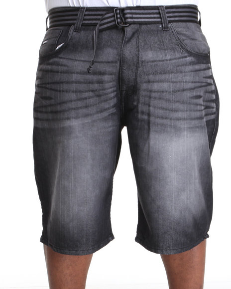 Enyce Men Black,Grey High Road Flap Brights Short (B&T)