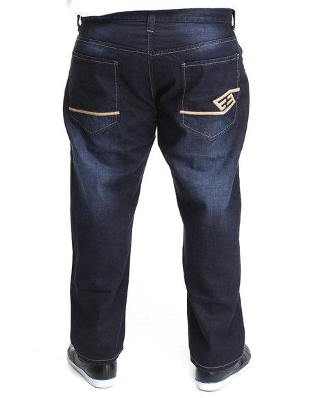 Enyce Men Blue Premium High Road Denim Jean (B&T)