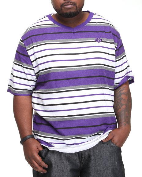 Enyce Men Purple Windser V-Neck (B&T)