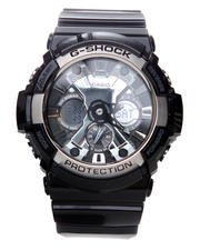 G-Shock by Casio - GA200BW Watch - w/ Silver Metallic Details