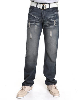 Basic Essentials - Argo Denim Jeans with Belt
