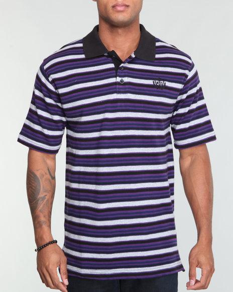 Enyce Men Purple,Purple Register Polo