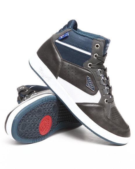 Coogi Men Grey Soros Hightop Sneaker