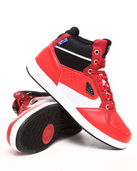 COOGI Men Red Soros Hightop Sneaker