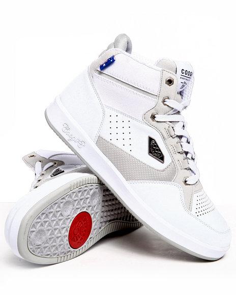 COOGI Men White Soros Hightop Sneaker