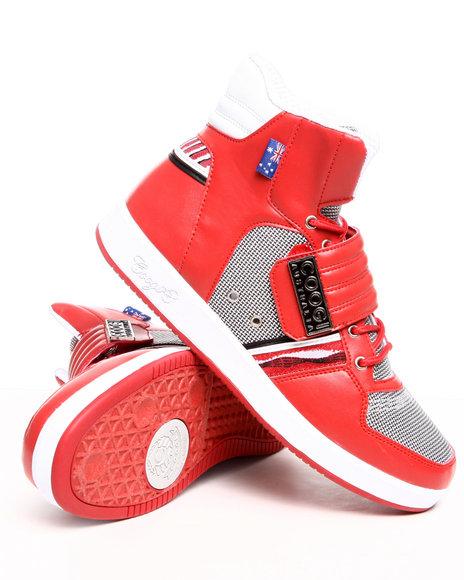 COOGI Men Red Monaco 2 Hightop Sneaker