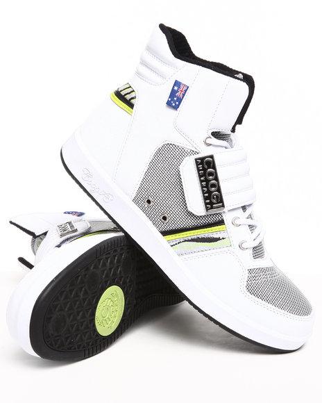COOGI Men White Monaco 2 Hightop Sneaker