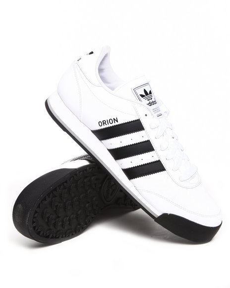 Adidas Men White Orion 2 Leather Sneakers