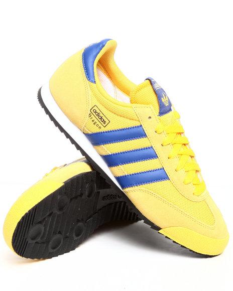 Adidas singapore adidas originals dragon retro men black yellow