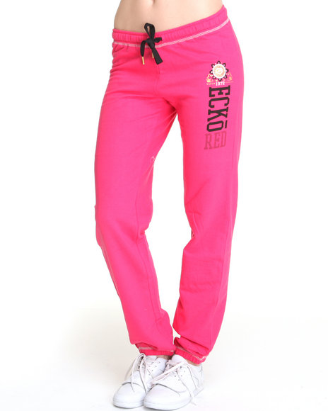 Ecko Red Women Pink Active Pants