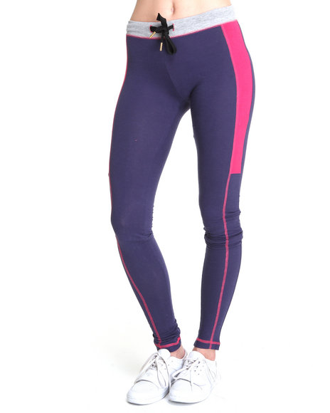 Ecko Red Women Purple Heavy Stretched Active Bottoms