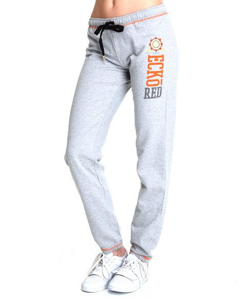 Ecko Red Women Grey Active Pants