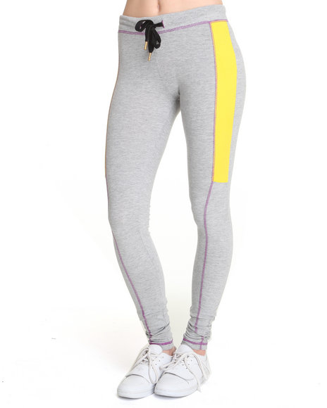 Ecko Red Women Grey Heavy Stretched Active Bottoms